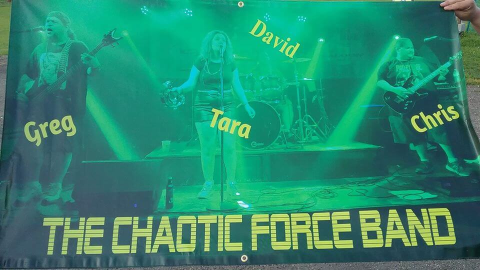 the chaotic force band