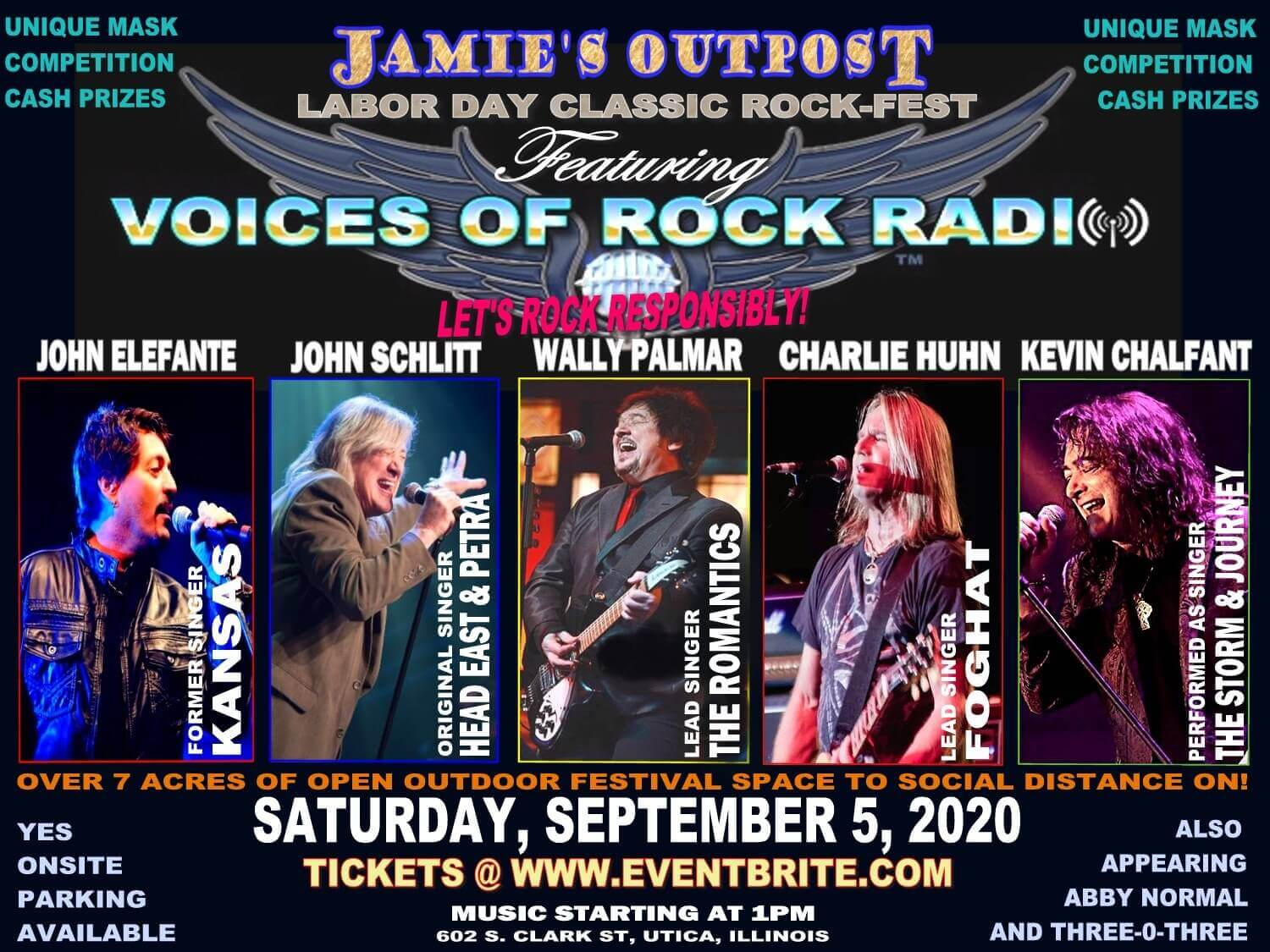Voices of Rock Radio at Jamies Outpost